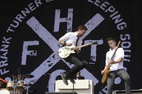 Frank Turner - the sleeping Souls auf dem Hurricane 2019 | Foto: Rudi Keuntje